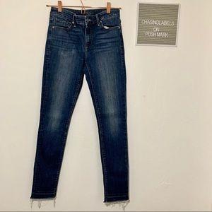 Lucky | Ava Skinny raw hem jeans